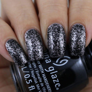 China Glaze- Paint It Black- Pret-a-potion