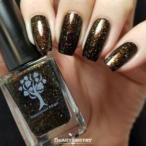 black jelly nail polish romanoff
