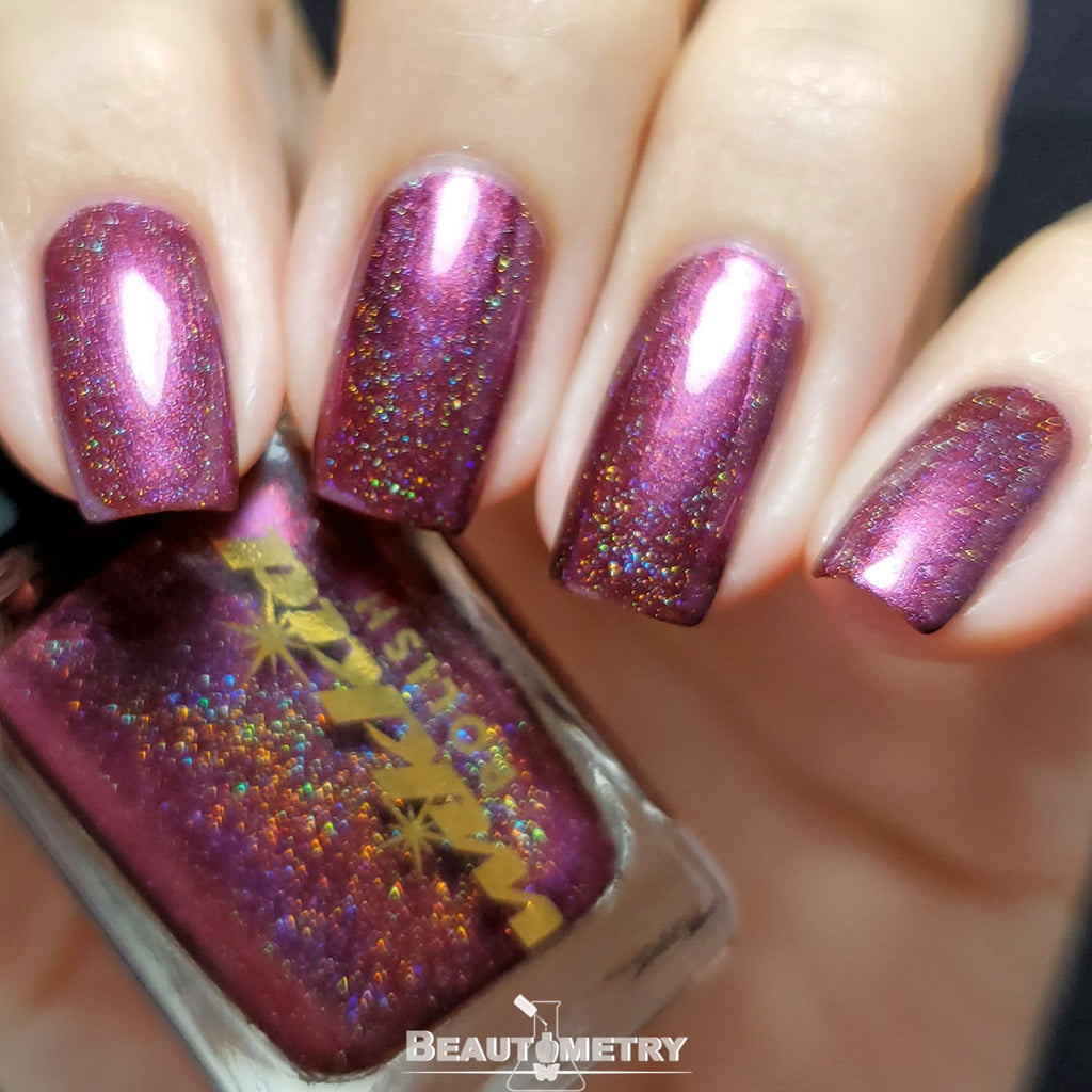 rubidium holographic nail polish