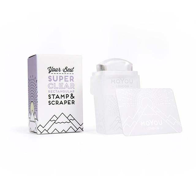 MoYou London- 3 in 1 Super Clear Rectangular Stamper