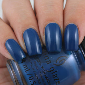 China Glaze- The Arrangement- Saved By the Bluebell