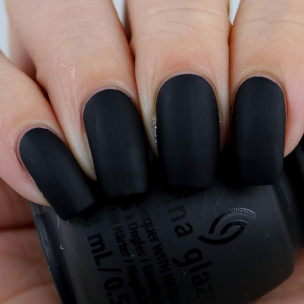 China Glaze- Paint It Black- Shadies & Gentlemen