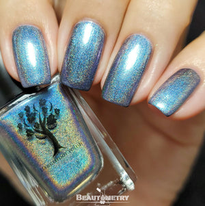 those who dance holographic nail polish