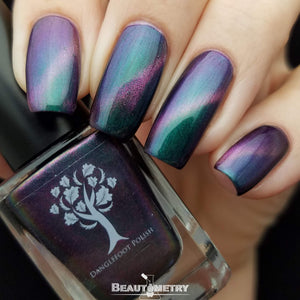time lady magnetic nail polish