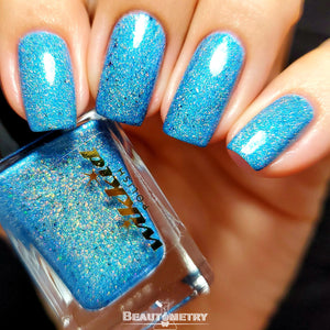 water holographic nail polish
