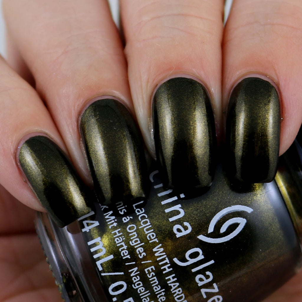 China Glaze- Paint It Black- Wicked Liquid