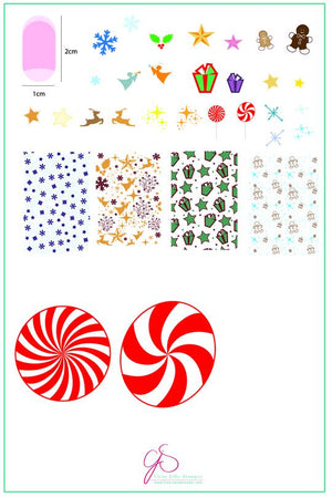 Clear Jelly Stamper- C-27- Pretty Paper- Candied