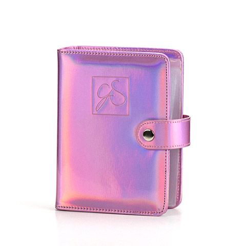 Clear Jelly Stamper- Accessories - Large Holo Plate Holder (Pink)