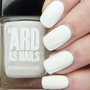Ard As Nails- Creme- White Van Girl