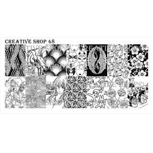 Creative Shop- Stamping Plate- 048