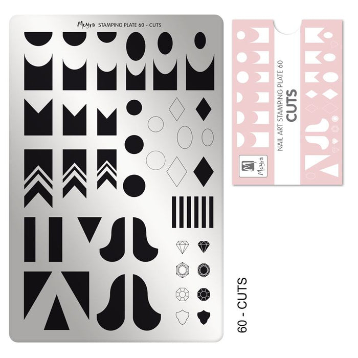 Moyra Stamping Plate 60 - Cuts