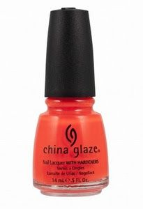 China Glaze- Orange Knockout