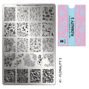 Moyra Stamping Plate 41- Florality 3