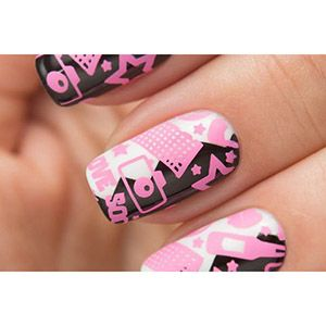Dance Legend- Stamping Polish- Pink