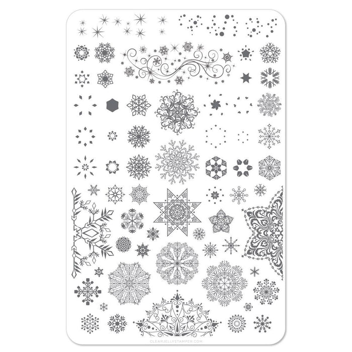 Clear Jelly Stamper- C-14- Diamonds in Ice