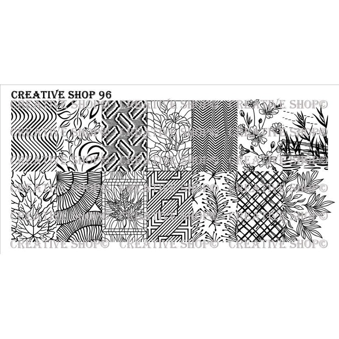 Creative Shop- Stamping Plate- 096