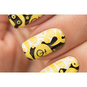 Dance Legend- Stamping Polish- Yellow