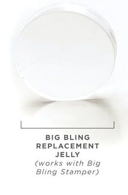 Clear Jelly Stamper- Big Bling Replacement Jellies