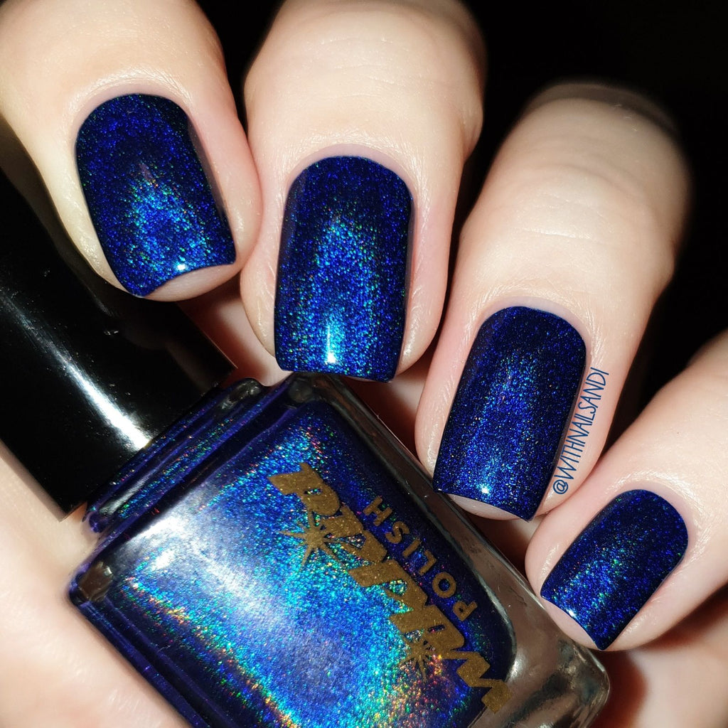Wikkid- Premium Holo- Blue Monarch