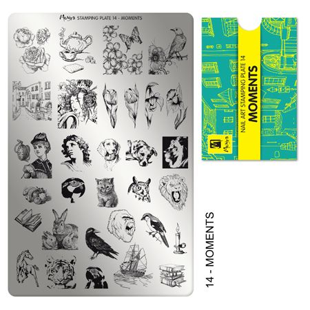 Moyra Stamping Plate 14 - Moments