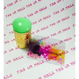 Fab Ur Nails- FUN XL Stamper Bright Green