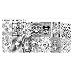 Creative Shop- Stamping Plate- 067