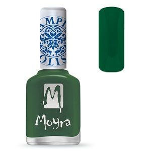 Moyra Stamping Nail Polish- No. 14 (Dark Green)