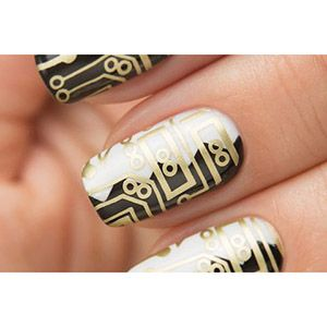 Dance Legend- Stamping Polish- Gold