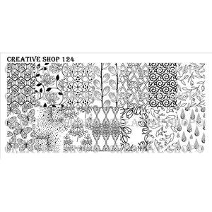 Creative Shop- Stamping Plate- 124