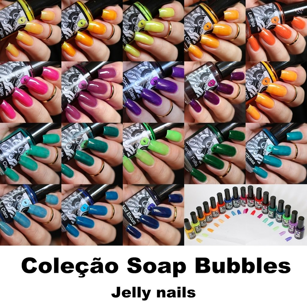 Esmaltes da Kelly- Soap Bubbles- Full Collection