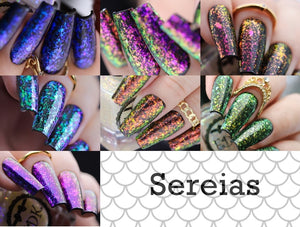 Esmaltes da Kelly- Mermaids- Full Collection