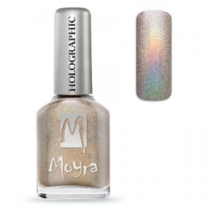Moyra Holographic Effect Nail Polish- No252 Nude