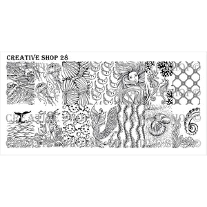 Creative Shop- Stamping Plate- 028