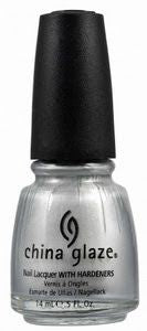 China Glaze- Platinum Silver
