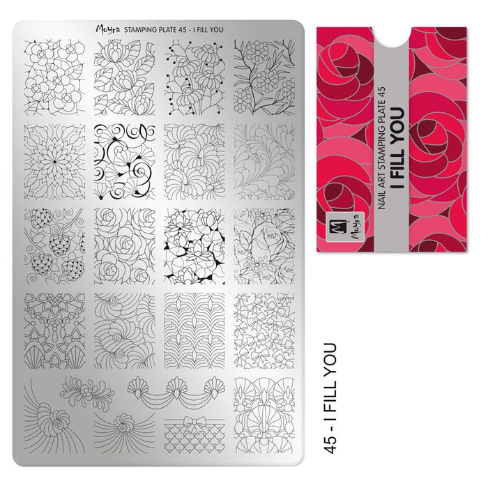Moyra Stamping Plate 45- I Fill You