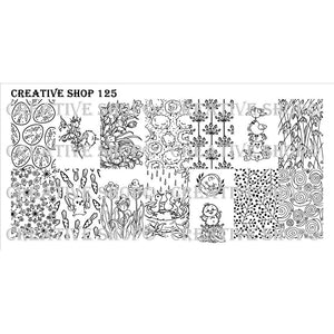 Creative Shop- Stamping Plate- 125