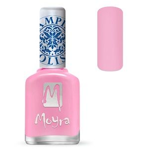 Moyra Stamping Nail Polish- No. 19 (Light Pink)