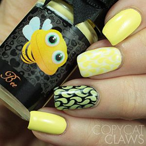 Esmaltes da Kelly- Animals- Bee