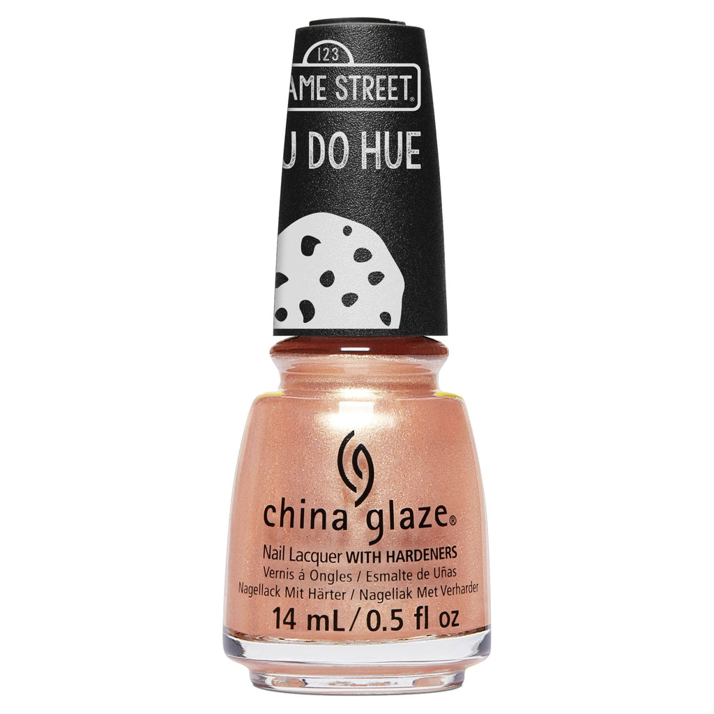China Glaze- Sesame Street You Do Hue- I Believe in Snuffy