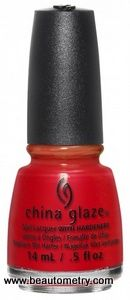 China Glaze- Lite Brite- Hot Flash