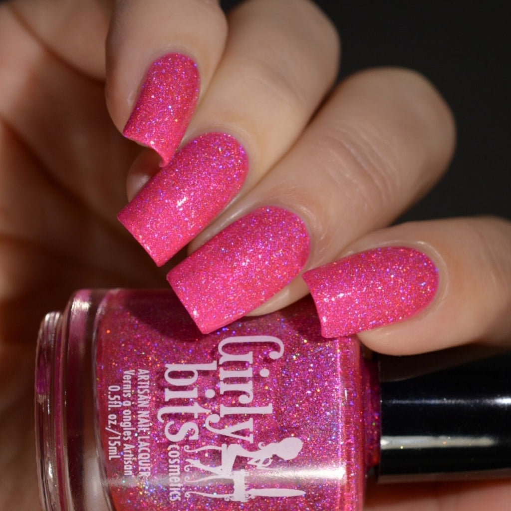 Girly Bits- Sequins & Satin Pants- Hot Stuff