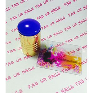 Fab Ur Nails- FUN XL Stamper Blue