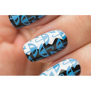 Dance Legend- Stamping Polish- Blue