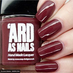 Ard As Nails- Creme- Sandra