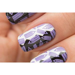 Dance Legend- Stamping Polish- Violet