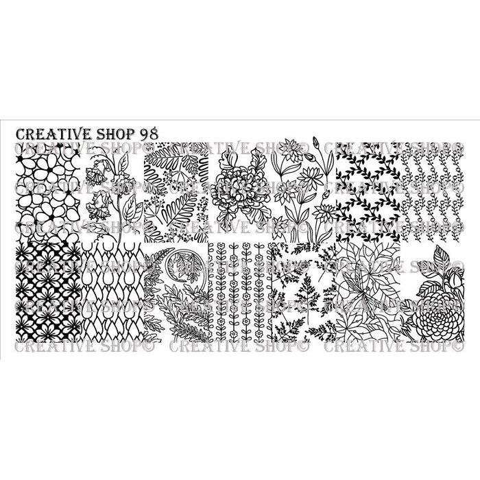 Creative Shop- Stamping Plate- 098