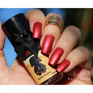 Esmaltes da Kelly- Star Wars- Darth Vader