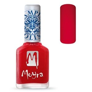 Moyra Stamping Nail Polish- No. 02 (Red)