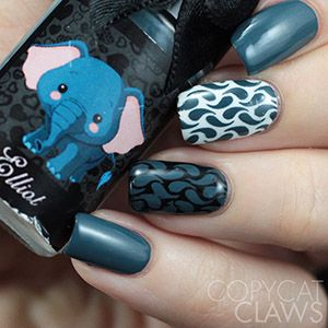 Esmaltes da Kelly- Animals- Elliot