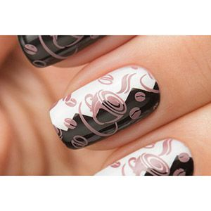 Dance Legend- Stamping Polish- Coffee